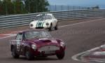 55 Aston Martin DB4GT, 51 Lotus Elite