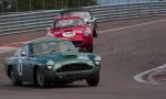 78 Aston Martin DB4GT,56 Ferrari 250 TdF,99 AC Ace Bristol