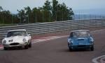 24 Elva Courrier, 40 Jaguar Type E FHC