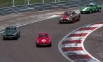 56 Ferrari 250 Tdf- 38 Aston Martin DB4 GT - 60 Chevrolet Corvette - 29 Lotus Elite