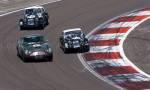 48 Aston Martin DB4GT,39 Morgan +4, 42 Morgan +4