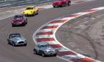 41 Austin Healey 3000,99 AC Ace Bristol,55 Aston Martin DB4GT,12 Alfa Roméo Giulia SZ,25 AC Ace Bristol