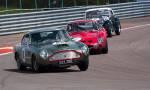 48 Aston Martin DB4 GT;2 Ferrari 330 GTO,82 Morgan +4