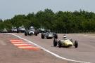 99 Brabham BT6 - 66 Brabham BT6 - 5 Lola mk2 - 48 Lotus 18 - 83 Lotus 22