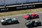 Plateau 3 : départ Aston Martin, Morgan, Triumph