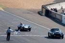 Plateau 3 : Arrivée Aston Martin - Jaguar Type D