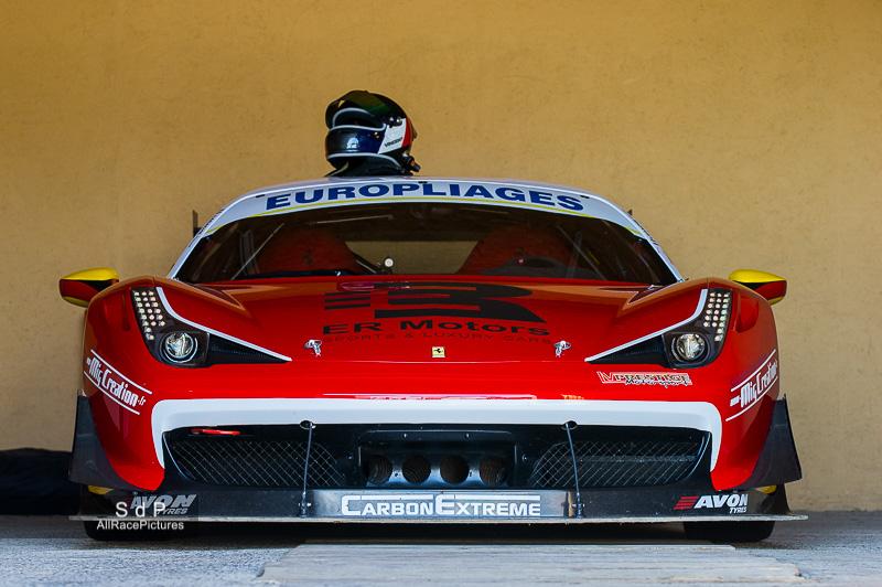 La Ferrari 458 Challenge de Vincent Lagarche