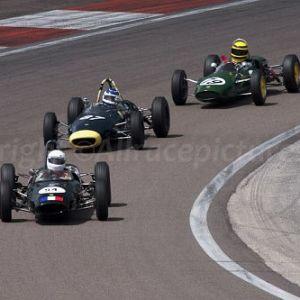 54 Lotus 22 - 87 Lola mk5A - 79 Lotus 27